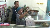 Anger over raid on Indonesian food seller