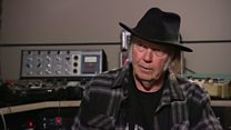 Neil Young on his new album, Earth