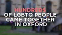 Oxford vigil after the Orlando massacre