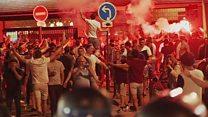 Las feroces batallas campales entre fans rusos e ingleses que empaña la Eurocopa 2016