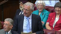 Lords Speaker role goes to a man for first time