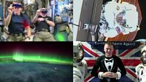 What has Tim Peake been doing in space?