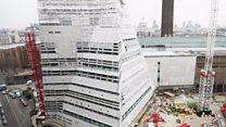 La ultramoderna torre piramidal que inaugura la galería TATE de Londres