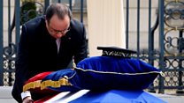 France pays tribute to police couple