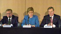 Sturgeon's horror at Jo Cox death