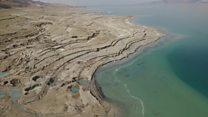 The shrinking Dead Sea