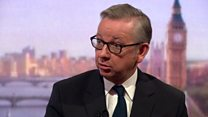 Gove insists UK better off outside of EU