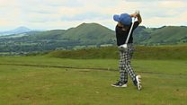Golfer Jack's in the swing of things - aged just six