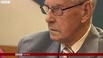 94歳元ナチス看守に禁錮刑 「正義の片りんだけでも」