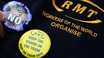 There's another rail strike