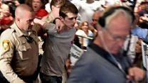 Joven británico es detenido por intentar robar un arma durante evento de Donald Trump en Las Vegas