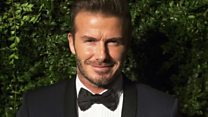 Beckham backed Remain; one comedian wasn't having it