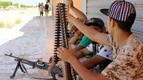 Bloody battles against IS in Libya