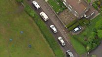 Aerial footage shows Glastonbury gridlock