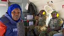 On patrol with African Union troops in Somalia