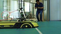 Conheça o robô que sabe jogar badminton