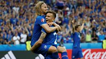 Icelandic commentator: 'I didn't know what I was saying'