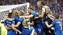El narrador que enloqueció al gritar el gol que clasificó a Islandia a la segunda ronda de la Eurocopa 2016