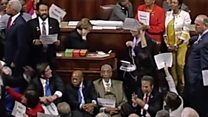 Sit-in in Congress