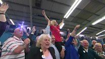 Leave supporters celebrate Sunderland win