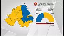 EU Referendum: NI Remain vote declared