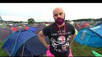 Glastonbury festival-goers on Brexit decision