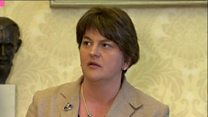 Arlene Foster says no to border poll