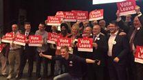 West Midlands Leave campaign celebrates