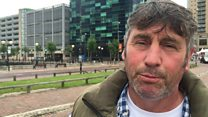 Plasterer Tony Green, 50, from Saddleworth, Gtr Manchester