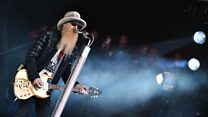 ZZ Top - Sharp Dressed Man (Glastonbury 2016)