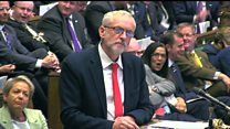 Corbyn attacks Labour MPs for 'infighting'