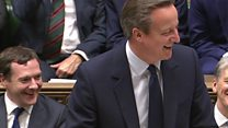 Cameron pokes fun at Labour resignations