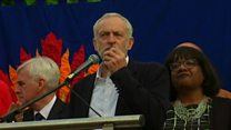 Corbyn calls for unity in his party