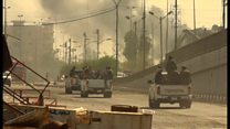 ただよう硝煙の匂い 奪還されたイラク要衝ファルージャで