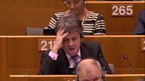 EU ovation for UK commissioner