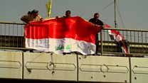 'Victory' flag raised in Falluja