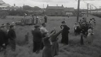 Queen's 1953 rail trip from Coleraine to Londonderry