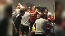 Wales defend England celebrations