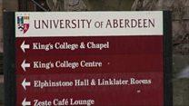 Aberdeen University's EU funding fears