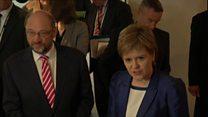 Sturgeon: EU 'challenge lies ahead'