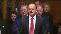 Boos for Carswell at PMQs
