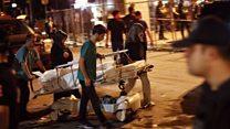 Момент взрыва в аэропорту Ататюрка в Стамбуле