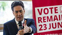 Miliband joins clamour for Corbyn resignation