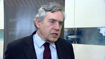 Gordon Brown: Britain looks leaderless