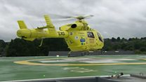 A new helipad for Sheffield's Northern General Hospital
