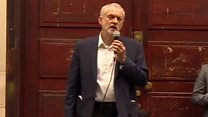 Corbyn 'proud to be carrying on'