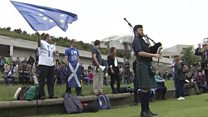 'Proud to be Scottish and European'