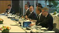 UK's 'glaring absence' at EU summit