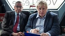 'Boris stabbed in back by Gove'