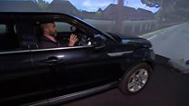 Driverless cars take to virtual streets